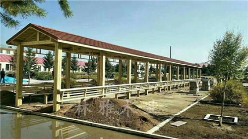 安阳防腐木长廊