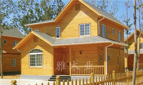 河南防腐木木屋-轻型木屋