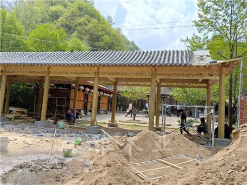 平顶山防腐木长廊