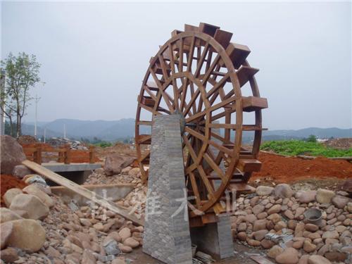 河南防腐木風車