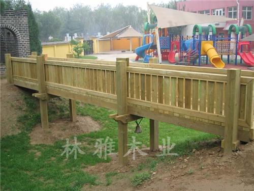 河南防腐木木橋