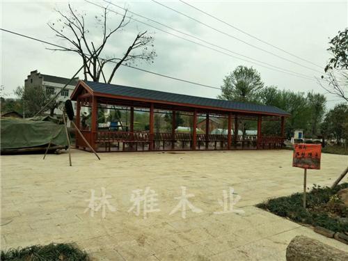 河南防腐木長廊