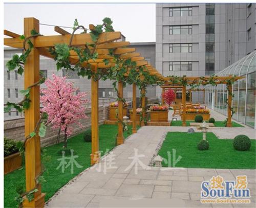 鄭州防腐木花架