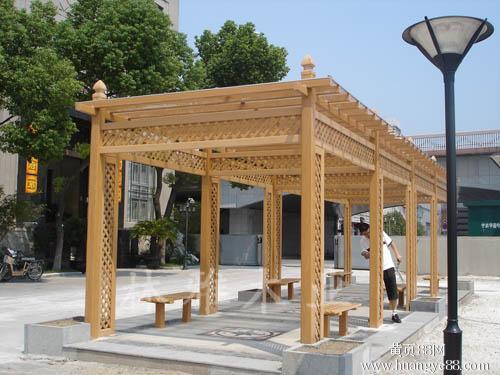 洛阳防腐木花架