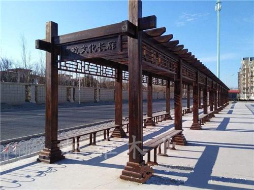 河南防腐木长廊