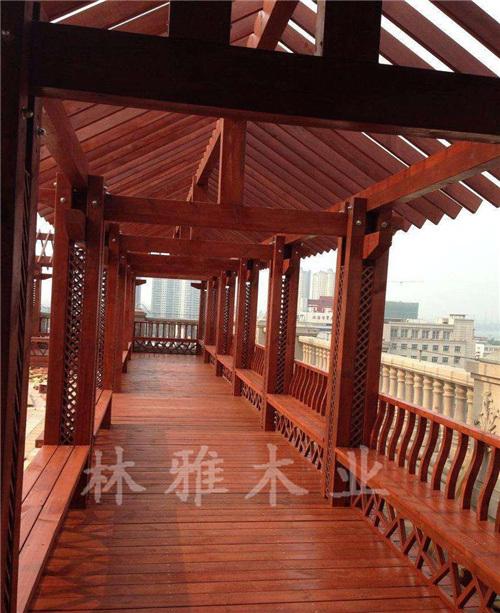 洛阳防腐木长廊