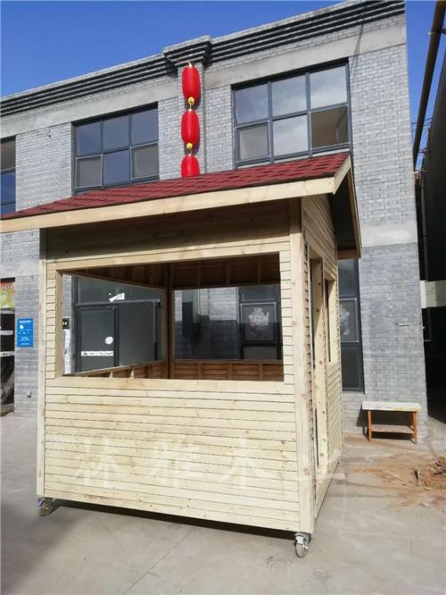 河南防腐木售货亭