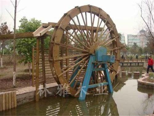 河南防腐木水车