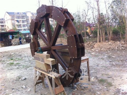 河南防腐木风车
