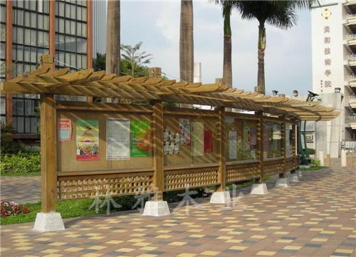 河南防腐木花架