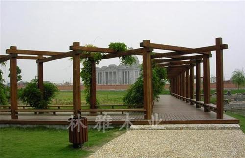 濮阳防腐木葡萄架