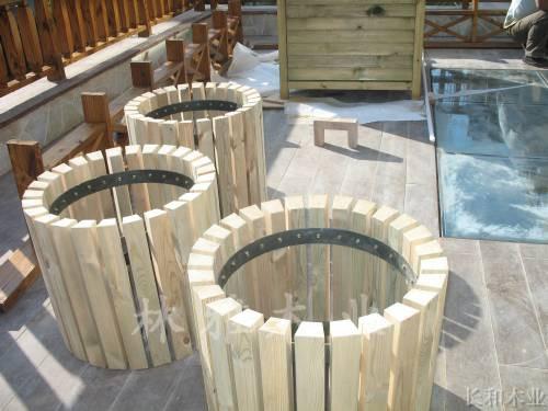 河南防腐木樹池