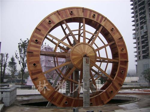 洛阳防腐木水车
