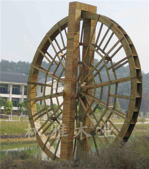 河南防腐木水車