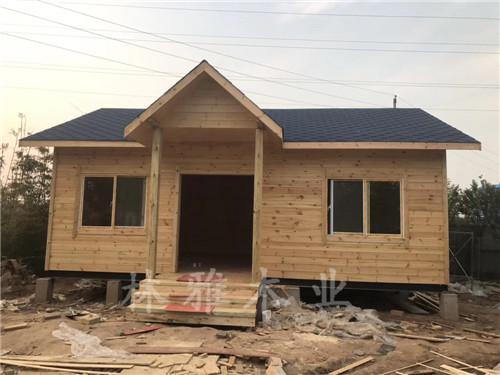 河南防腐木木屋:防腐木木屋在防蟻上邊應當如何做