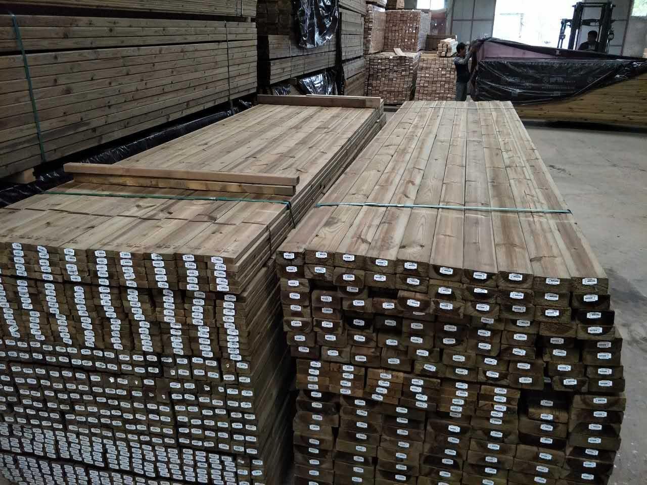 郑州防腐木地板厂家