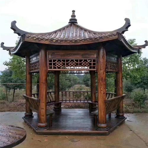 郑州防腐木凉亭