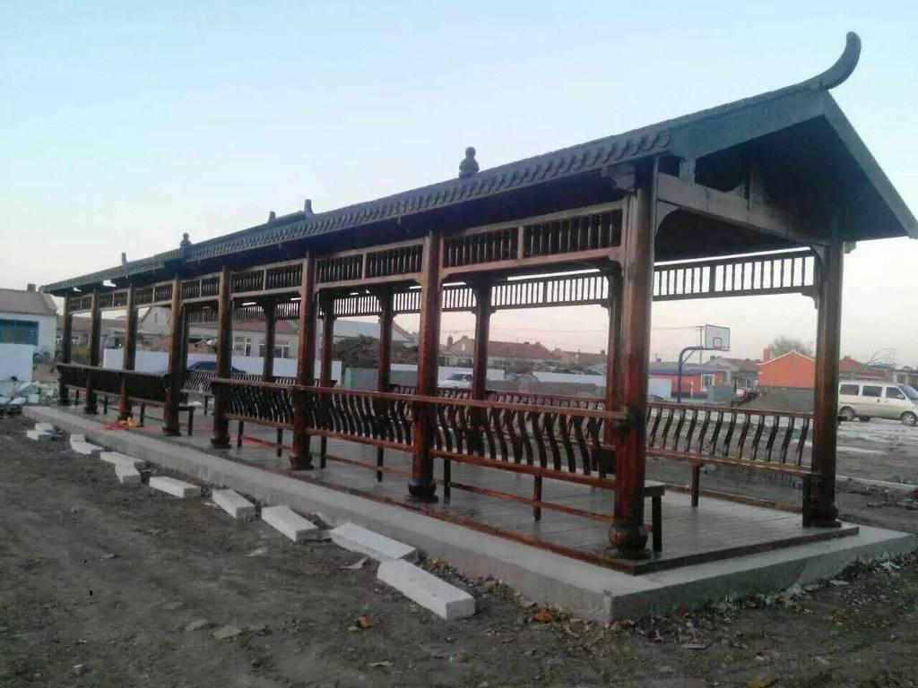 漯河防腐木长廊