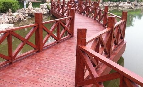 焦作防腐木棧道