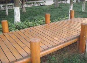 信陽防腐木棧道