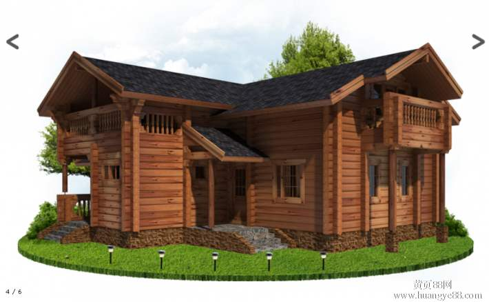 防腐木木屋-三门峡防腐木木屋