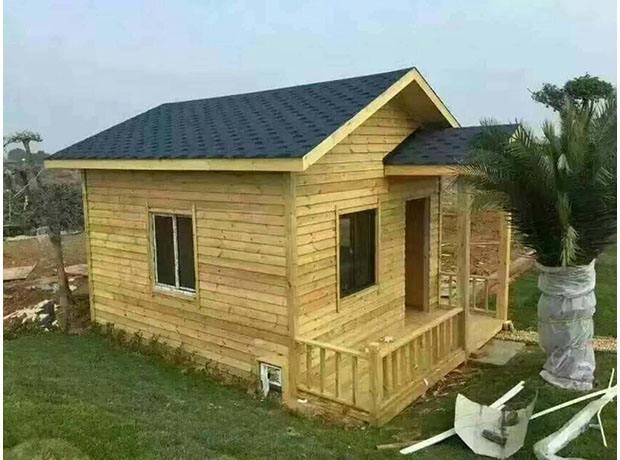 防腐木木屋图片
