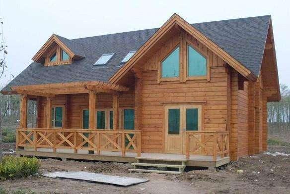 信阳防腐木木屋设计
