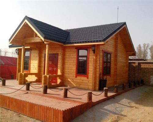 周口防腐木木屋设计