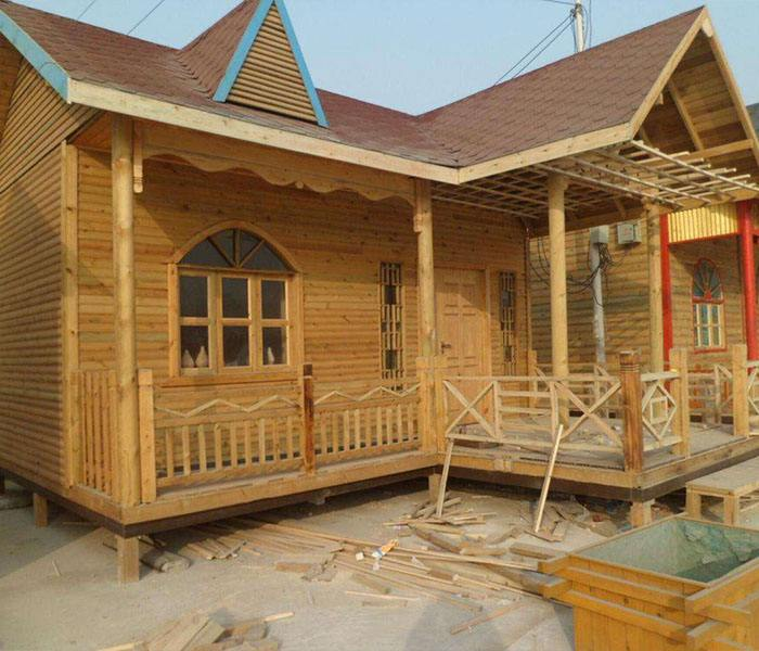 平顶山防腐木木屋设计
