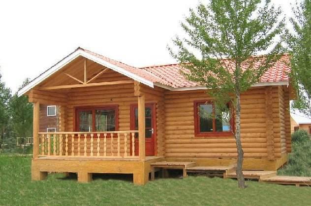防腐木木屋厂家设计