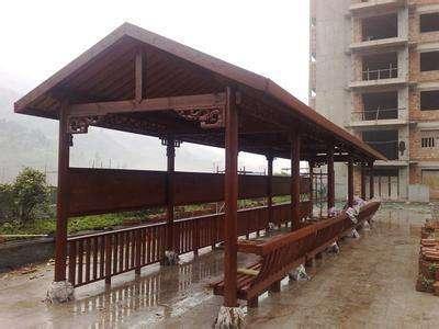 北京防腐木长廊,防腐木长廊尺寸分析
