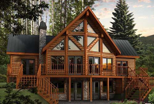 防腐木木屋建在哪里比较合适--西安防腐木