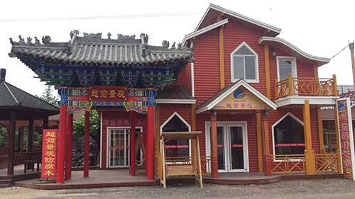 西安防腐木屋建造