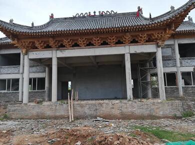 寺院的古建筑案例