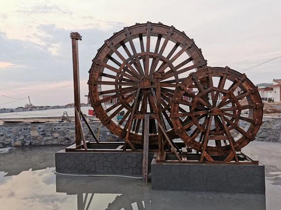 陜西防腐木——水車