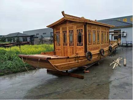 陜西防腐木——木船案例