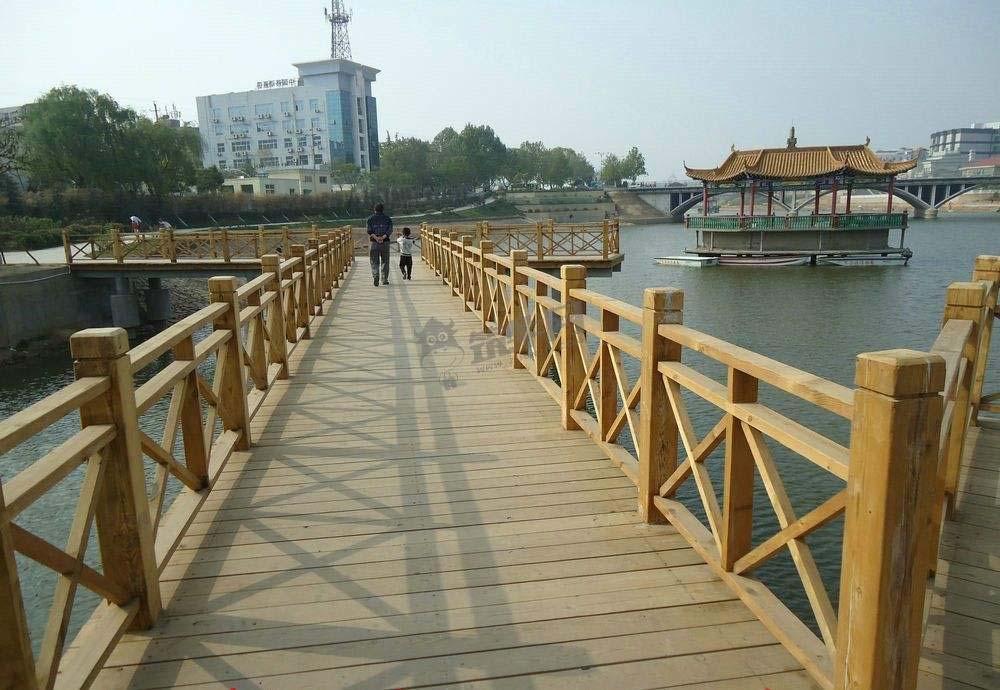 西安防腐木栅栏扶手