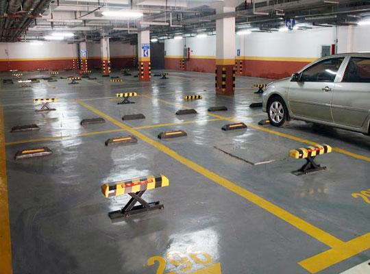 陕西环氧地坪-停车场停车位地坪