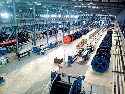 陕西电线电缆生产基地