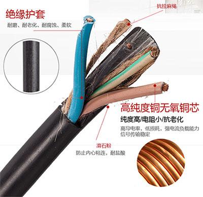 橡套軟電纜價格
