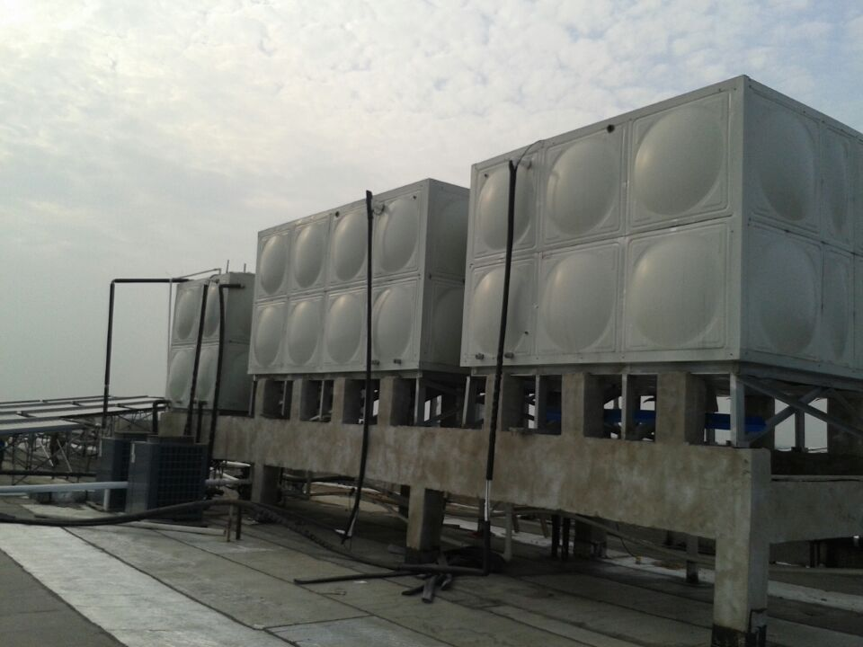 四川方形不锈钢水箱客户案例一一成都置信·丽都花园