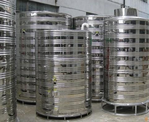 成都不锈钢圆柱水箱客户案例——成都龙湖·晶蓝半岛