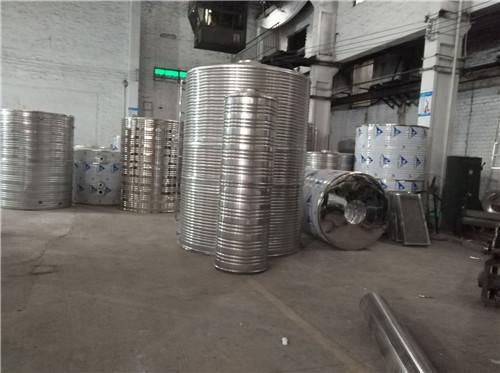 四川不锈钢圆柱水箱-厂区环境