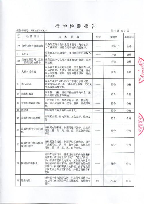 四川不锈钢冲压板-检验报告