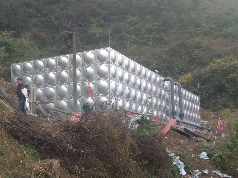 四川不锈钢水箱——泸州郎酒污水厂