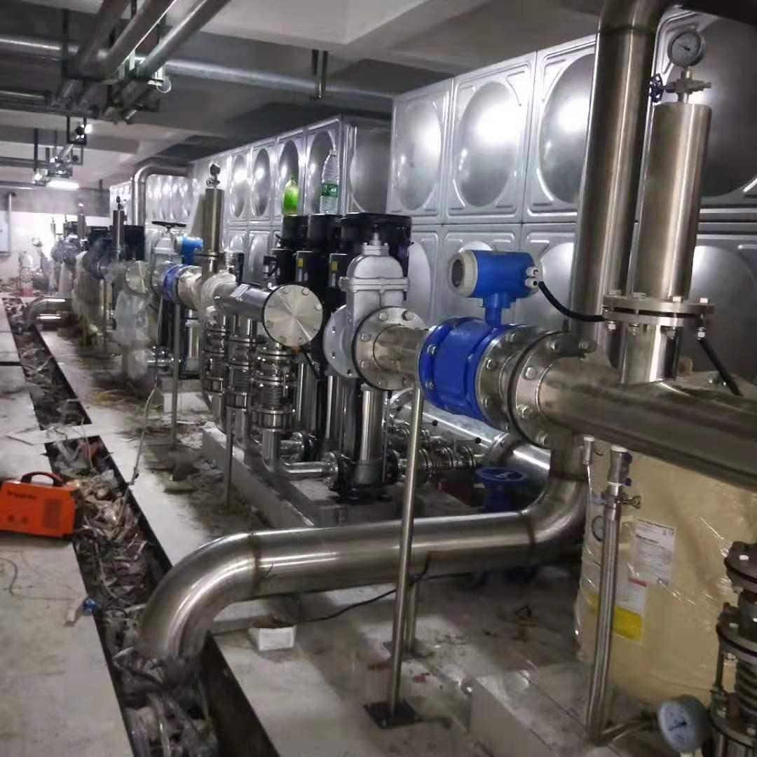 四川东方和源不锈钢水箱设备——祝贺富顺远大盛景项目完工