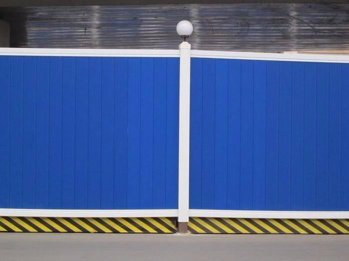 成都彩钢围挡的安装要求要严格执行