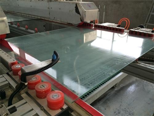 武汉钢化玻璃厂区