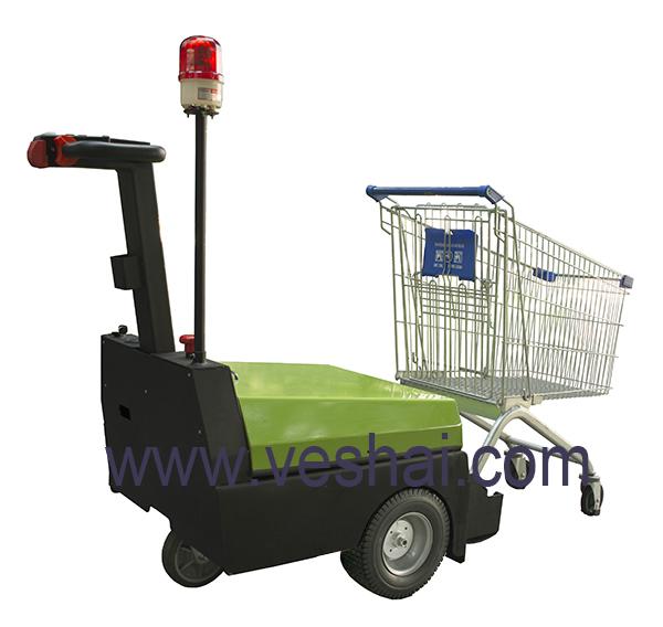 步驾式电动行李牵引车