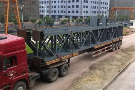 鋼結構構件運輸